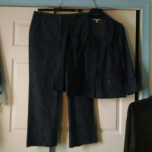 Coordinating jacket (pictured with pants)